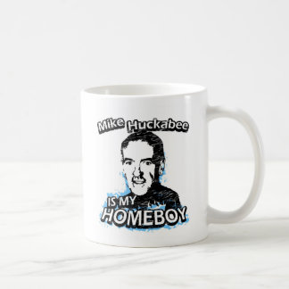 Mike Huckabee is my homeboy Classic White Coffee Mug