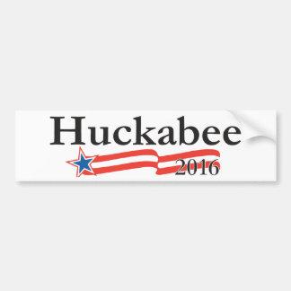 Mike Huckabee para el presidente 2016 Pegatina De Parachoque