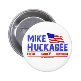 Mike Huckabee Pinback Button