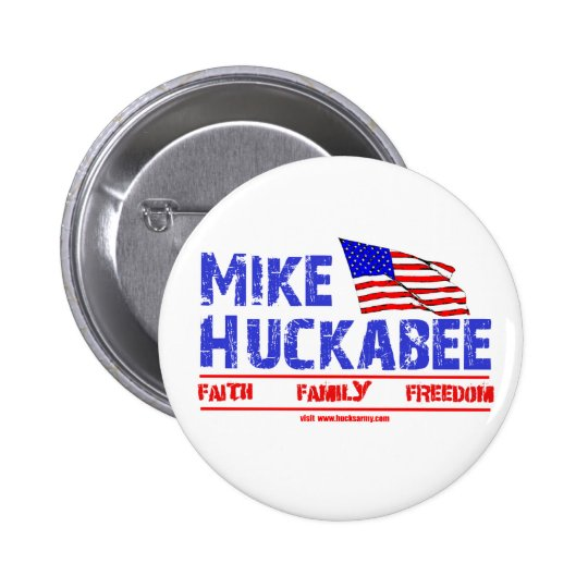 Mike Huckabee Pinback Button