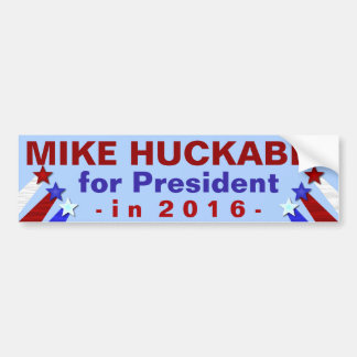 Mike Huckabee President 2016 Election Republican Bumper Sticker