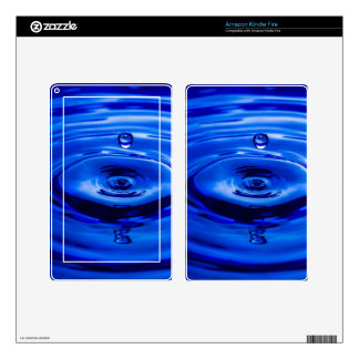 Mike Leasure Water Droplet Decal For Kindle Fire