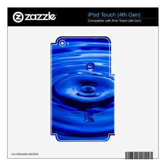 Mike Leasure Water Droplet Decals For iPod Touch 4G