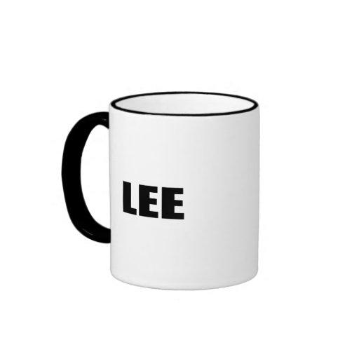 MIKE LEE 2010 RINGER COFFEE MUG