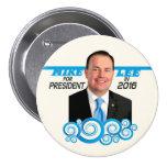 Mike Lee para el presidente en 2016 Pins