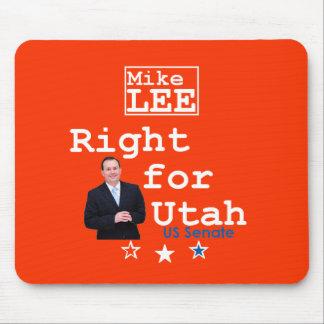 Mike LEE Utah Senate 2010 Mousepad
