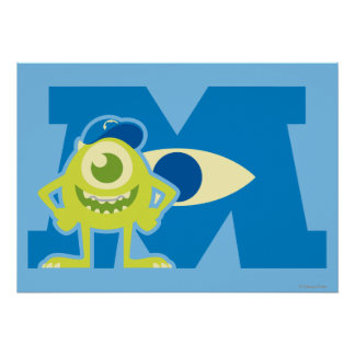 Mike M Logo Poster