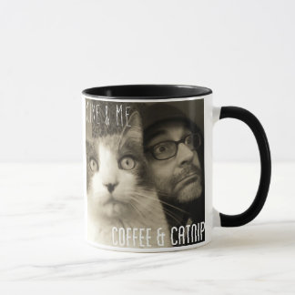 Mike & Me Coffee & Catnip/Songs for Napping Mug