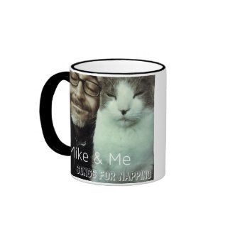 Mike & Me Coffee & Catnip/Songs for Napping Ringer Mug