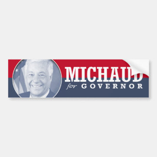 MIKE MICHAUD CAMPAIGN CAR BUMPER STICKER