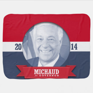 MIKE MICHAUD CAMPAIGN RECEIVING BLANKETS