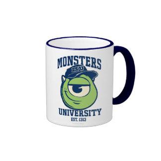 Mike Monsters University Est. 1314 Ringer Mug