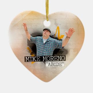 """MIKE MORENO """"ABIDE"""" CERAMIC ORNAMENT"""