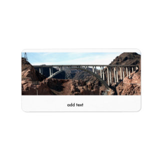 Mike O'Callaghan-Pat Tillman Memorial Bridge Label
