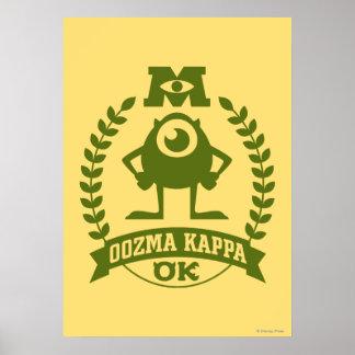 Mike - OOZMA KAPPA Poster