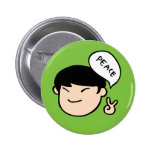 Mike Park Button (Green)