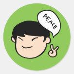 Mike Park Sticker (Green)