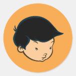 Mike Park Sticker (Orange)
