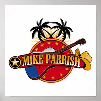 Mike Parrish Logo Canvas Print