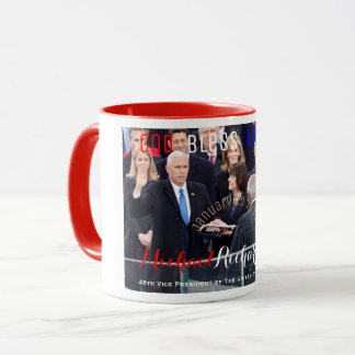 Mike Pence 48th Vice President of The USA Sworn In Mug