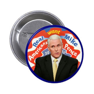 Mike Pence for President in 2016 Button