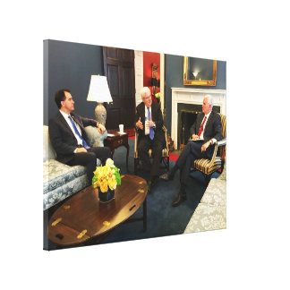 Mike Pence, Newt Gingrich, & Scott Walker Canvas Print