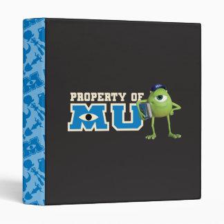 Mike Property of MU 3 Ring Binder