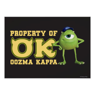 Mike - Property of OK Poster
