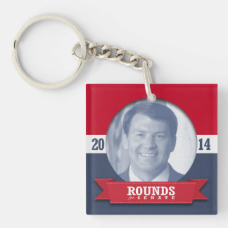 MIKE ROUNDS CAMPAIGN ACRYLIC KEY CHAIN