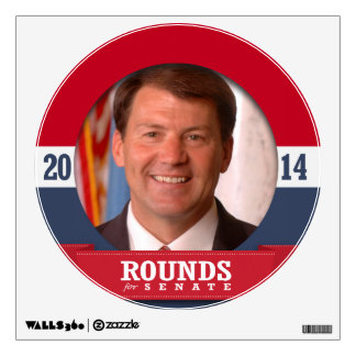 MIKE ROUNDS CAMPAIGN ROOM DECALS