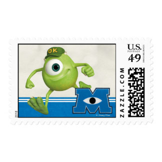 Mike Running Postage Stamps