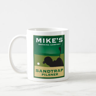 Mike s Sandtrap Pilsner Personalized Coffee Mug