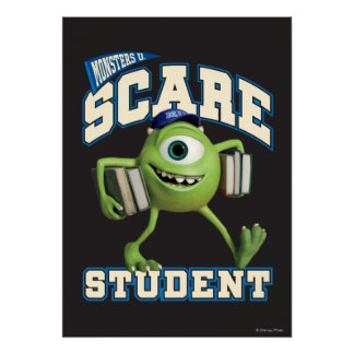 Mike Scare Student 2 Poster