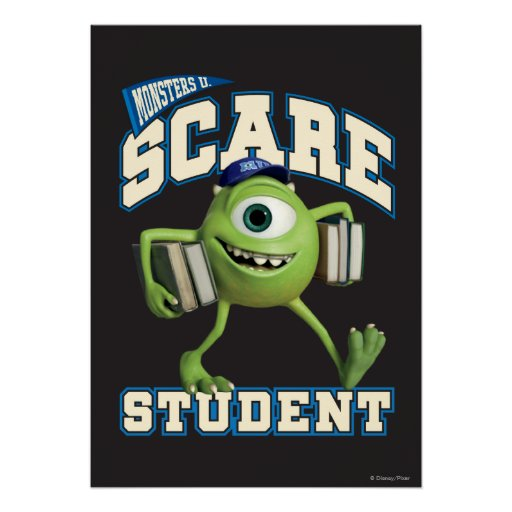 Mike Scare Student 2 Posters