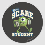 Mike Scare Student 2 Round Sticker