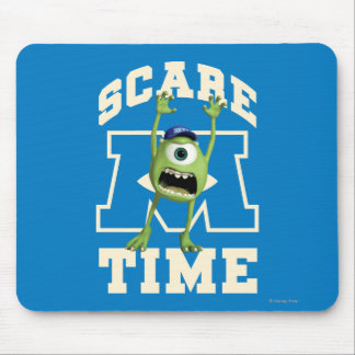 Mike Scare Time Mouse Pad