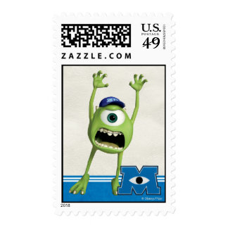 Mike Scaring Stamp