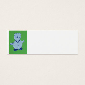 Mike Skinny Business Cards, 7.6 cm x 2.5 cm, Mini Business Card