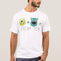 Mike+Sulley=Scream Team 2 T-Shirt