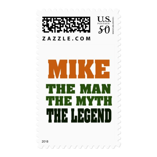 MIKE - the Man, the Myth, the Legend Postage