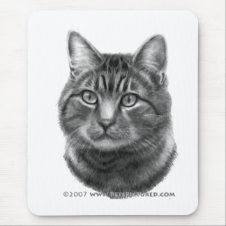 Mike, Tiger Cat Mouse Pad