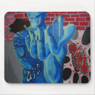 Mike Tyler UFC Studio Art Mouse Pad