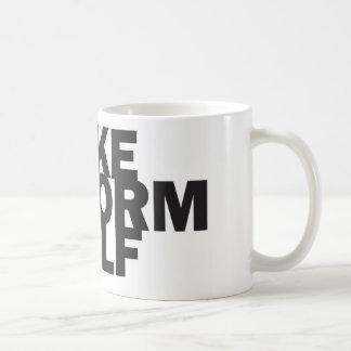 MIKE UNIFORM GOLF Ceramic C-Handle Mug