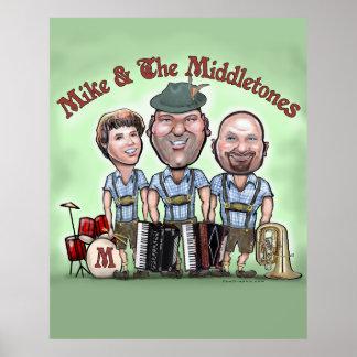 Mike y el poster de Middletones