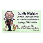 Mike y la música de Middletones Plantilla De Tarjeta Personal