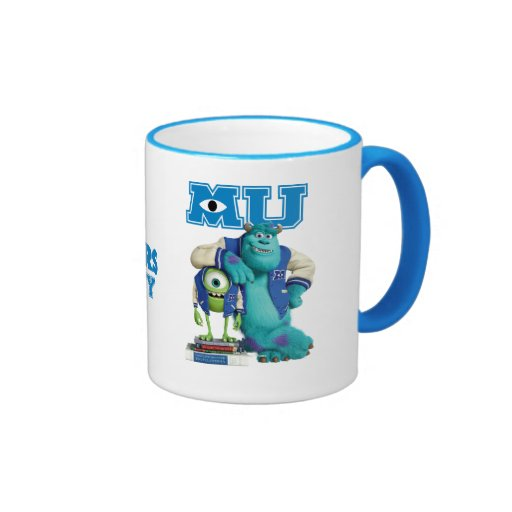 Mike y Sulley MU Taza A Dos Colores