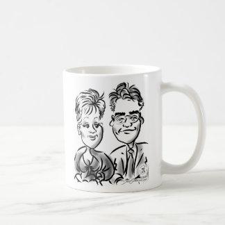 Mike y taza de Elina