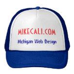 mikecali.com, diseño web de Michigan Gorras