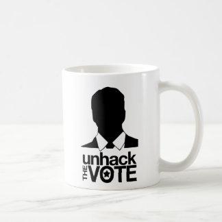 MikeFarb1 - Unhack the Vote Mug
