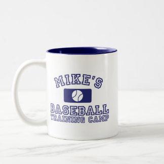 Mike's Baseball Training Camp Mug